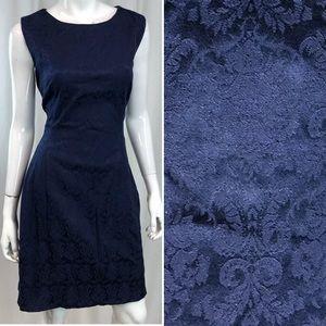 Eva Mendes NY&Co Brocade Sheath Dress plus size